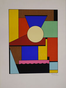 Lajos Kassák, 'Unknown (abstract composition)', 20th