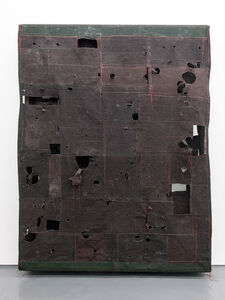 Simon Callery, 'Flat Painting Bodfari 15 Caput Mortuum', 2015