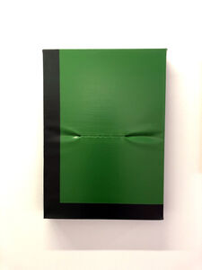 "Angela de la Cruz, '""SCAR-GREEN-DARK GREEN""', 2016"