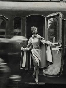 Louis Faurer, 'Model wearing Coat with Fur', 1960