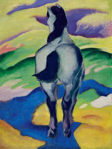 Franz Marc, 'Blaues Pferd (Blue Horse) II', 1911