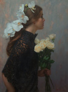 Mark Arian, 'Orchids and Roses', 2019