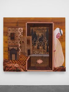 Wael Shawky, 'The Gulf Project Camp: Carved wood (after Haft awrang 'Seven thrones' by Jami, 1556-1565)', 2019
