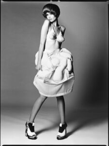 David Bailey, 'The Girl in the White Dress', 2010