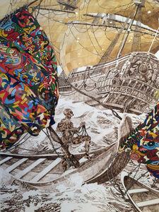 Julien Sinzogan, 'Bon vent a tous 2', 2015