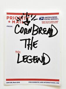 Cornbread, 'Postal Label Series: The Legend II', 2020