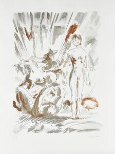 Aligi Sassu, 'Manuscriptum', 1992