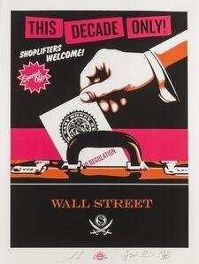 Shepard Fairey (OBEY), 'Shoplifters Welcome', 2012