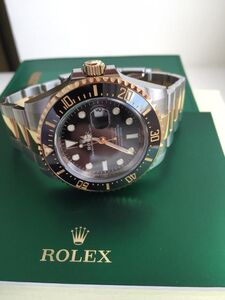 Rolex, 'Rolex Sea-Dweller 43MM 126603 18k Gold & Stainless Steel NEW', 2019