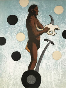 Frank Buffalo Hyde, 'Segway Native II', 2011