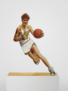 Howard Kanovitz, ''Pistol' Pete Maravich', 1969