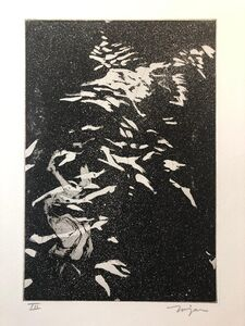 Jack Zajac, 'Surrealist Figurative Aquatint Etching California Modernist Sculptor Artist', 1960-1969