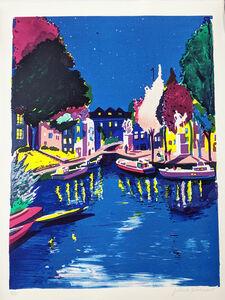 Jules de Balincourt, 'Boat People', 2017