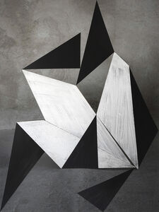 Alejandra Laviada, 'Stacking Composition in Black', 2019