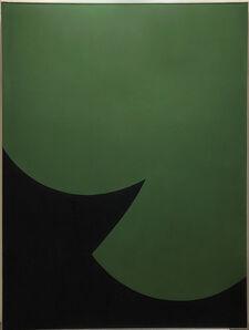 Leon Polk Smith, 'Correspondence Green-Green', 1966