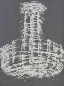 Gary Simmons, 'Chandelier Spin', 2012
