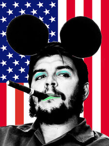 Cartrain, 'I Went To Disneyland And All I Got Was Cigar (USA Che)', 2016