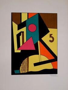 Lajos Kassák, 'Architectural Structures 1925', ca. 1949