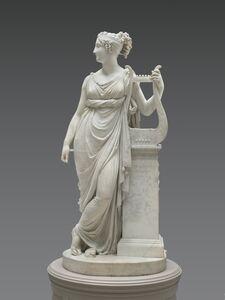 Antonio Canova, 'Terpsichore Lyran (Muse of Lyric Poetry)', 1816