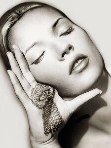 Albert Watson, 'Kate Moss, Sun and Henna, Marrakech', 1993