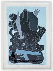 Todd James, 'Broken Sword in Helmet Trick', 2011