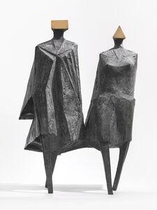 Lynn Chadwick, 'Walking Couple II', 1987