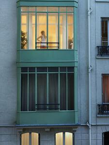 Gail Albert Halaban, 'Cour des petites écuries, Paris, 10e, le 24 septembre', 2013