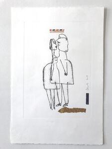 Serge Bloch, 'Couple', 2017