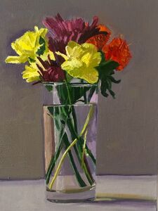 Dan McCleary, 'Mixed Flowers with Yellow Carnation', 2017