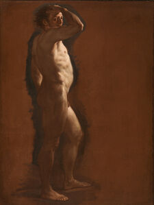 Corrado Giaquinto, 'MALE NUDE STUDY'