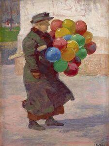 Edward Henry Potthast, 'Toy Balloons', 1912-1915