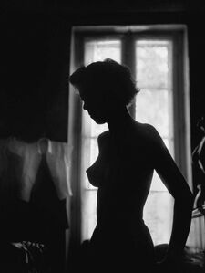 René Groebli, 'The Eye of Love, Silhouette, Paris (no. 526)', 1952