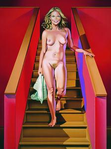 Mel Ramos, 'Nude Descending a Staircase', 2004