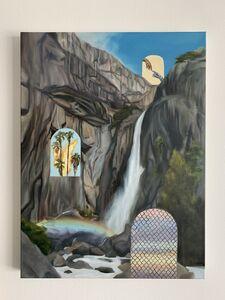 Jessica Bellamy, 'Empirical Evidence of a Mirror Universe at Yosemite Falls', 2020