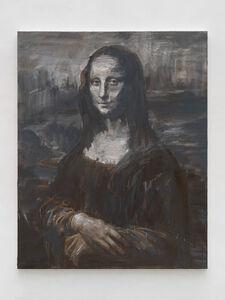 Yan Pei-Ming, 'Monna Lisa, le dernier sourire terre brûlée', 2019