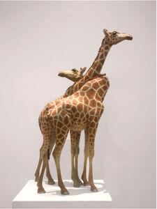 Jean-françois Fourtou, 'Giraffe, Standing Straight', 1999