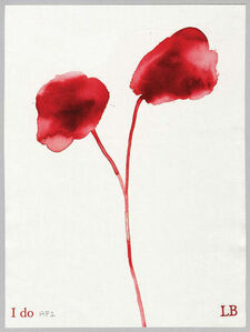 Louise Bourgeois, 'I do', 2010