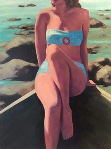 TS Harris, 'Woman at the Shore', 2017