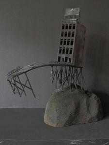 Patrick Robideau, 'Process of Memory VIII: cantilevered bridge'