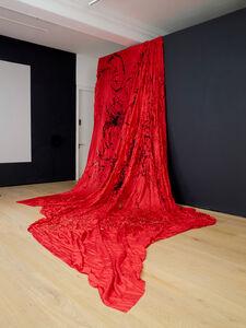 Shelagh Wakely, 'Scarlet Silk', 1991