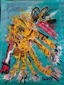 John Paul Fauves, 'Tiger Skin', 2018