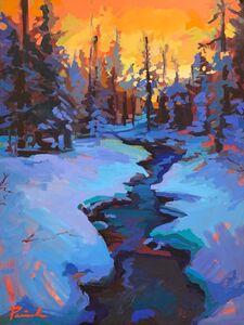 Nick Paciorek, 'Morning Creek ', 2021