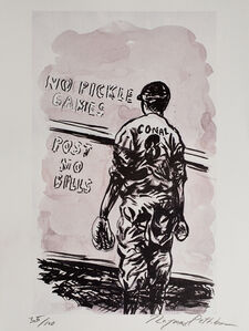 Raymond Pettibon, 'No title (No pickle games...)', 2008