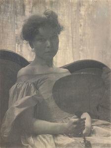 Eva Watson-Schütze, 'Portrait of Mrs. C.B.', 1900c / 1900c