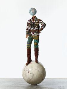 Yinka Shonibare CBE, 'Post-Colonial Globe Man', 2018