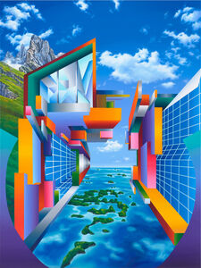 Seo (b.1977), 'Heimat ist kein Ort V', 2017