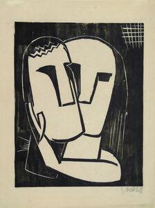 Karl Schmidt-Rottluff, 'Lovers', 1920