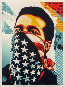 Shepard Fairey, 'American Rage', 2020