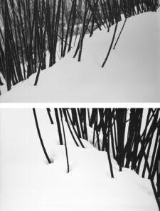 Abbas Kiarostami, 'Snow, nr 50 - 51', anni 1970