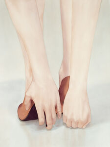 Maria Nordin, 'Hands to Feet Pose', 2019